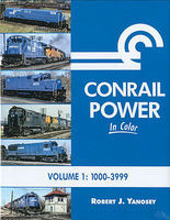 Morning-Sun Conrail Power In Color Model Railroading Book #1544