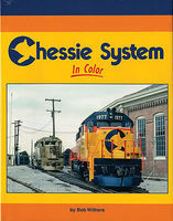 Morning-Sun Chessie System In Color Model Railroading Book #1551