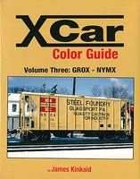 Morning-Sun X Car Golor Guide Volume 3 GROX-NYMX Model Railroading Book #1576