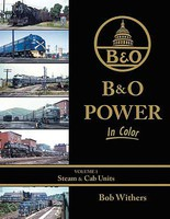 Morning-Sun B&O Power In Color Volume 1-Steam & Cab Units
