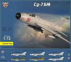 Modelsvit Su7BM Fighter/Bomber Plastic Model Airplane Kit 1/72 Scale #72001