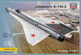 Modelsvit MiG21i 2nd Portotype (Analog A144-2) Fighter Plastic Model Airplane Kit 1/72 Scale #72004