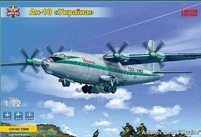 Modelsvit Antonov A10 Ukraine Civil Aircraft (Ltd Edition) Plastic Model Airplane Kit 1/72 #72008