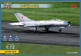 Modelsvit Mikoyan I3U (I420) Soviet Interceptor Aircraft Plastic Model Airplane Kit 1/72 Scale #72010
