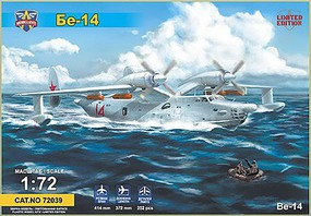 Modelsvit 1/72 Beriev Be14 All-Weather SAR Flying Boat Aircraft (Ltd Edition) (New Tool)