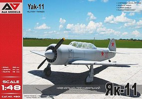Modelsvit 1/48 Yak11 Military Trainer Aircraft (A&A Models) (New Tool)