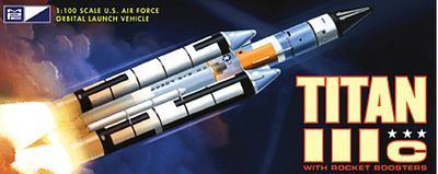 MPC by Ertl Titan Rocket -- Plastic Model Space Craft -- 1/100 Scale -- #790