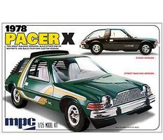 MPC 1978 AMC Pacer X Car Plastic Model Car Kit 1/25 Scale #802