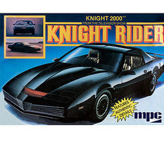 MPC Knight Rider 1982 Pontiac Firebird Car Plastic Model Car Kit 1/25 Scale #806