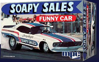 MPC by Ertl Dodge Challenger Soapy Sales Funny Car -- Plastic Model Car Kit -- 1/25 Scale -- #831