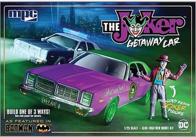 MPC 1/25 1978 Batman Joker Goon Car, Dodge Monaco