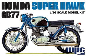 MPC 1/16 Honda Super Hawk Motorcycle