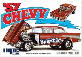 MPC 1/25 1957 Chevy Flip Nose, Spirit of 57
