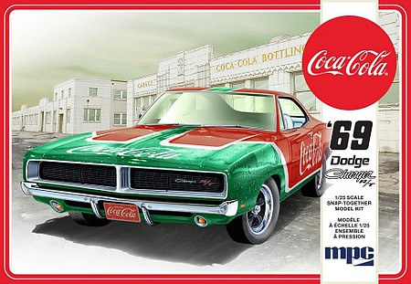 MPC 1/25 Coca-Cola 1969 Dodge Charger RT (Snap)