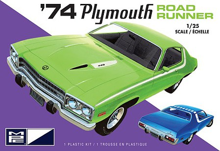 MPC 1/25 1974 Plymouth Road Runner, 2T