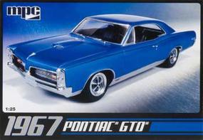 MPC 1967 Pontiac GTO Plastic Model Car Kit 1/25 Scale #710