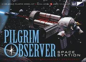 MPC NASA Pilgrim Observer Space Station Plastic Model Space Craft 1/100 Scale #713