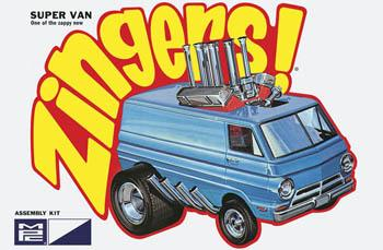 MPC by Ertl 1/32 Super Van Zinger