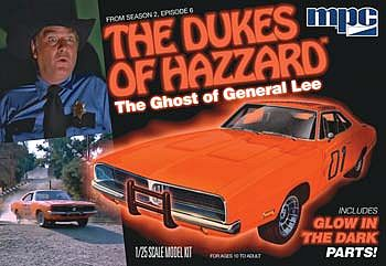 MPC by Ertl Ghost of General Lee -- Plastic Model Car Kit -- 1/25 Scale -- #754