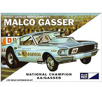 MPC by Ertl Ohio George Malco Gasser 1967 Mustang -- Plastic Model Car Kit -- 1/25 Scale -- #800_12
