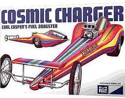 MPC Cosmic Charger Carl Casper Plastic Model Car Kit 1/25 Scale #826-12