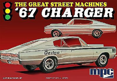 MPC by Ertl 1967 Charger Great Street Machines -- Plastic Model Car Kit -- 1/25 Scale -- #829-12