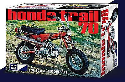 Honda Trail 70 Mini Bike Plastic Model Motorcycle Kit 1/8 ...
