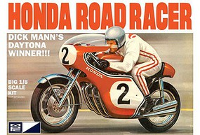 MPC Dick Mann Honda 750 Road Racer Motorcycle Plastic Model Motorcycle Kit 1/8 Scale #856-06