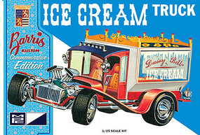 MPC Ice Cream Truck (G.Barris Comm. Ed.) Plastic Model Truck Kit 1/25 Scale #857-12
