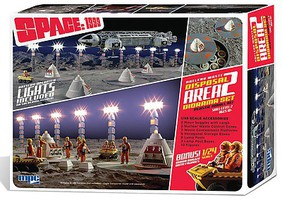 MPC 1/48 Space 1999 Nuclear Waste Area 2 Diorama