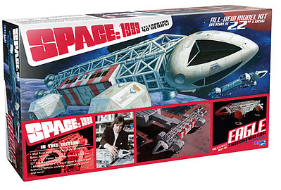 MPC 1999 Space Eagle Transporter Special Ed. Science Fiction Plastic Model 1/48 Scale #874-06