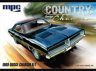MPC by Ertl 1969 Dodge Country Charger RT -- Plastic Model Car Truck Vehicle -- 1/25 Scale -- #878-12