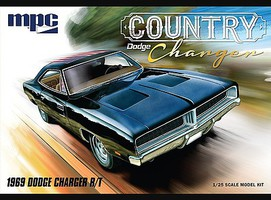 1969 Dodge Country Charger RT Plastic Model Car Truck Vehicle 1/25 Scale #878-12