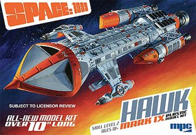 MPC 1/72 Space- 1999 Hawk Mk IX