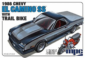 MPC 1/25 1986 Chevy El Camino SS w/Dirt Bike