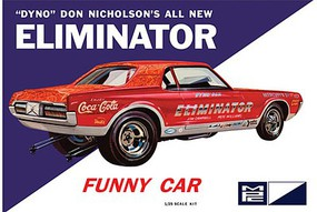 MPC 1/25 Dyno Don Cougar Eliminator Funny Car