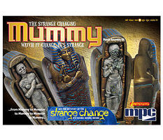 MPC The Strange Changing Mummy Plastic Model Celebrity Kit 1/12 Scale #pc755
