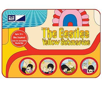 MPC by Ertl Beatles Yellow Submarine Special Edition -- Plastic Model Kit -- 1/25 Scale -- #pc759