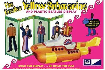 MPC by Ertl Beatles Yellow Submarine -- Plastic Model Kit -- 1/25 Scale -- #pc779