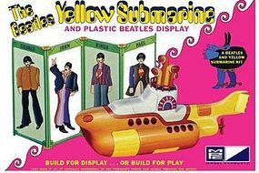 MPC Beatles Yellow Submarine Plastic Model Kit 1/25 Scale #pc779