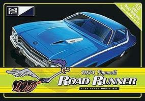 MPC 1974 Plymouth Road Runner Tin Plastic Model Car Kit 1/25 Scale #pc781