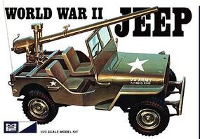 MPC WWII US Army Jeep Plastic Model Jeep Kit 1/25 Scale #pc785
