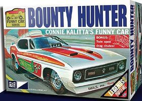 MPC 1972 Mustang Bounty Hunter Funny Car (C. Kalitta) Plastic Model Car Kit 1/25 Scale #pc788