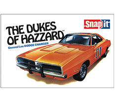MPC Dukes of Hazzard Gen Lee 1969 Charger Snap Tite Plastic Model Car Kit 1/25 Scale #pc817