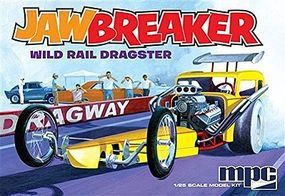 MPC Jawbreaker Dragster 1/25 Scale Plastic Model Racecar Kit #pc821