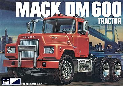 MPC Mack DM600 Tractor Plastic Model Truck Kit 1/25 Scale #pc859