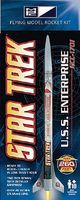 MPC Star Trek USS Enterprise NCC1701 Model Rocket Kit Plastic Model Rocket Kit #rkt4