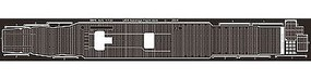 Midship-Plastics USS Lexington CV2 Photo-Etched Deck for FJM (D) Plastic Model Ship Accessory 1/700 #825