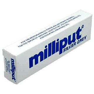 Milliput Medium Silver-Grey 2-Part Self Hardening Putty