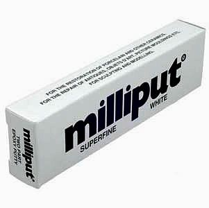 Milliput Superfine White 2-Part Self Hardening Putty